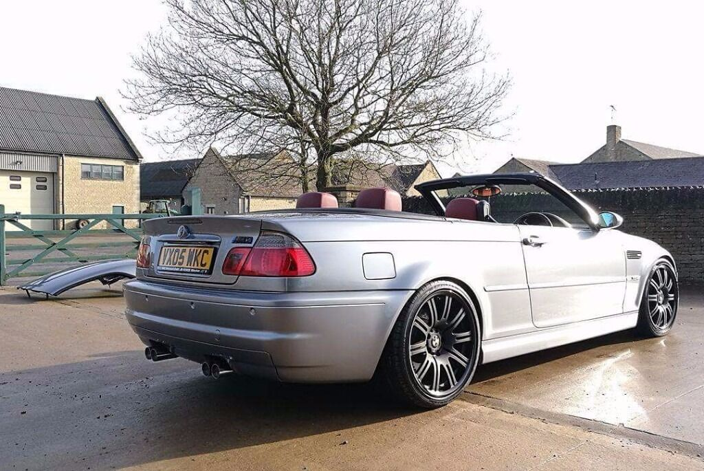 bmw e46 m3 convertible manual with hardtop 2005 in. Black Bedroom Furniture Sets. Home Design Ideas