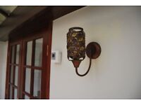Wall Lights - Decorative, mains electric including shade