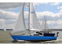 Van de Stadt Legend 29 Sailing Yacht for sale £8000 ono