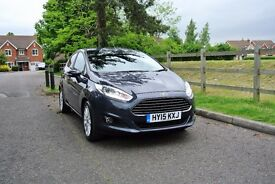 Ford Fiesta Titanium X 2015 1.0 5dr Very low mileage, like new
