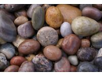20 mm moray pebble garden and driveway chips/ gravel/ stones