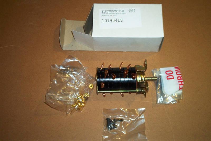 Caterpillar OEM 3N5976 Rotary Switch 4 Position - NIB