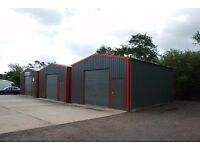Small industrial units to rent