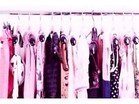 155cm Long Chrome Wardrobe Clothes Rail Pole 20mm Thick Diameter(ONLY Rail being sold,nothing else).