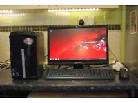 Packard Bell Imedia S3210, AMD Athlon x3 2.70GHz, 3GB Ram, 300GB, LCD, Epson Printer