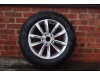 16inch TYRE & ALLOY WHEEL BOUGHT AS SPARE FOR 2015 HYUNDAI i40, IMMACULATE, NEVER USED