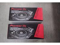 Pioneer XDJ-1000MK2 (Pair Of) Brand New Factory Sealed £2050