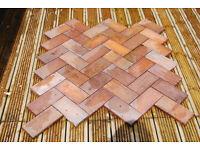 Terracota Paving Tile Outdoor / Indoor, Hawkins Red Heather