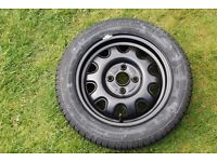 Vauxhall Agila Wheel and Tyre 2000 - 2007 (Unused) Collection from Woking or Horsham