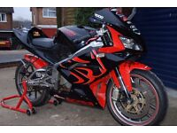 Aprilia RS 125 - Superb Bike - custom paint and loads of extras - very well maintained