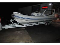 New boat trailers for RIB, Yacht, Power boat, Fishing Boat & jetski