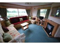 STATIC CARAVAN FOR SALE OFF SITE Double Glazed, Centrally heated, 2 beds & Immaculate