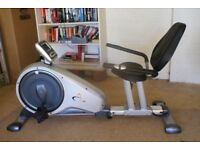 V-Fit Recumbent Magnetic Exercise Cycle