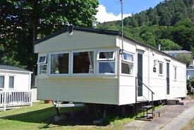 Holiday home for sale in stunning north wales, Conwy. Delta Denbigh 2 bed. £19'995.