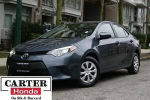2014 Toyota Corolla CE + BLUETOOTH + LOCAL +  LOW KM!
