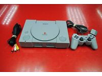Sony Playstation 1 PS1 Complete with Joypad and Leads £60