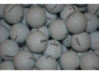 50 TITLEIST USED GOLF BALLS GOOD CONDITION