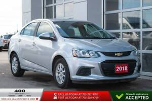 2018 Chevrolet Sonic | LT | HEATED SEATS |