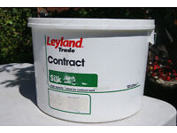 New - 10 Litre Leyland Contract Silk Emulsion Paint - Pale Blue