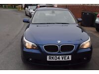 BMW 530D SE AUTO 2004 LOVELY CONDITION FULL MOT ON PURCHASE LOW MILEAGE ONLY £3995