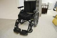 Breezy 600 Wheelchair with Roho Air Filled Cushion