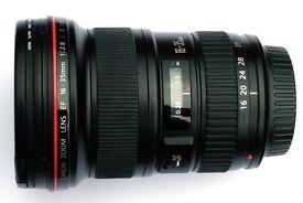 Canon EF 16-35mm F2.8L USM lens.
