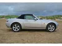 MAZDA MX5 2005 Mark 3 LOW MILAGE GREAT CONDITION WAX UNDERSEALED ROOF WEATHERPROOFED CD AUTOCHANGER