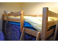 Pine Cabin Bed with Mattress