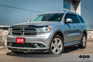 2015 Dodge Durango **LEATHER**SUNROOF**NAVIGATION**HEATEDSEATS**