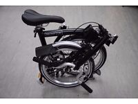 Brompton M3L 2017 Folding Bike Black £840