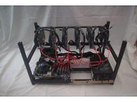 6 GPU Mining Rig for sale (NEW)