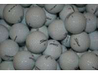 50 TITLEIST USED GOLF BALLS EXCELLENT CONDITION
