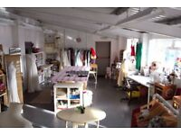 Beautiful shared studio in the heart of Bristol, lots of natural light, perfect for creatives!