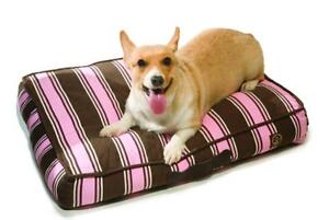 NEW One for Pets 1801-Pink-M Classic Pillow Bed, Medium, Pink