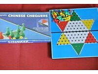 "Vintage Magnetic Chinese Chequers by Cathay 7.5"" x 7.5"""