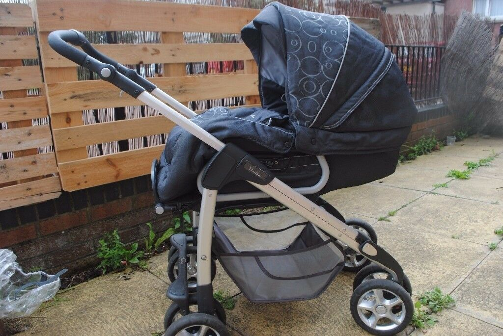 Silver Cross Pram Pushchair Baby Inserts Rain Cover