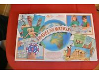 Retro Travel The World Board Game by Early Learning Centre