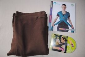 Organic Cotton sling/stretchy wrap + dvd + manual