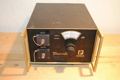 Photodyne 1950xr-050 Continuous Optical Attenuator