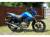 Lexmoto Assault 125 motorbike 2016 Great Condition