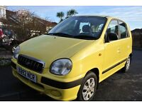 Lovely Hyundai Amica, virtually 1 elderly owner and low mileage bargain