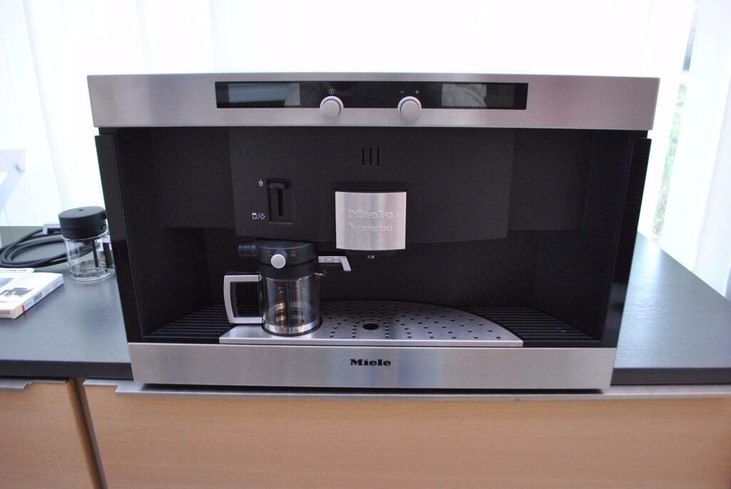 miele cva 2660 nespresso built in integrated coffee machine in nuneaton warwickshire gumtree. Black Bedroom Furniture Sets. Home Design Ideas