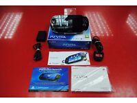 Sony PS Vita PCH-1103 Black 3G/WiFi Boxed £90