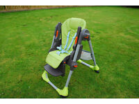 Variable Position Chicco High Chair.In good condition from smoke free home.