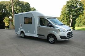 Ford Custom Nu Venture motorhome 2 berth with shower & toilet, oven, heating, only 1.9m wide