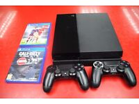 Sony Playstation 4 bundle with 2 pads and 2 games £250