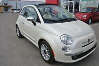 2012 Fiat 500 Lounge CONVERTIBLE, CUIR