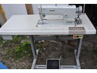 BROTHER INDUSTRIAL FLATBED SEWING MACHINE model IV