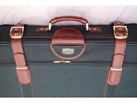 Antler original green suitcases in excellent condition