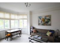 Very large two double bedroom apartment in West Hampstead